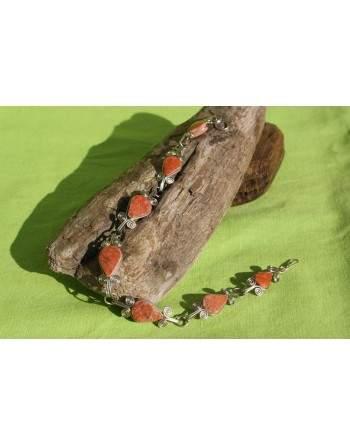 Bracelet aux sept pierres des Andes