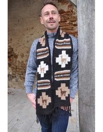 Echarpe tricoté main