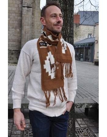 Echarpe tricoté artisanalement