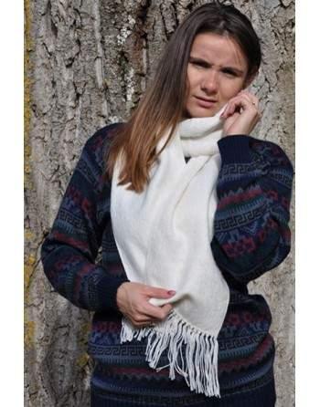 Echarpe Camargo blanc
