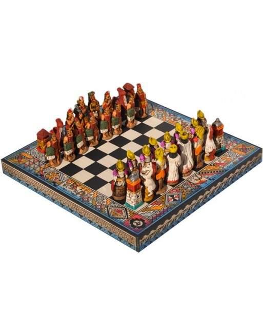 Jeu d'échecs péruvien