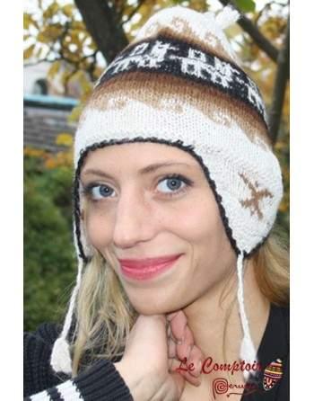 Bonnets péruviens femme