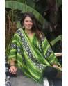 Poncho Cuzco vert