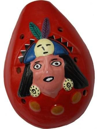 Ocarina INCA (rouge)