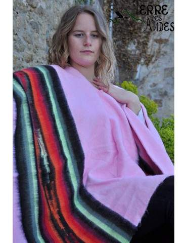 Poncho andin rose