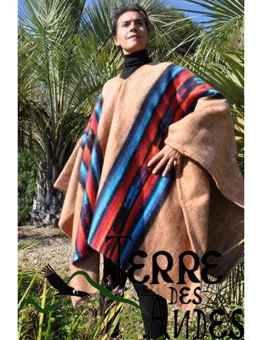 Poncho andin couleur...