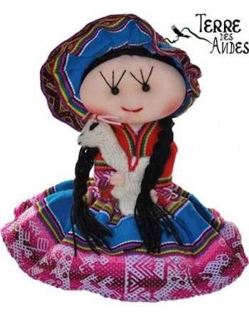 Poupée cholita péruvienne