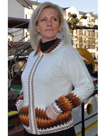 Cardigan laine d'alpaga