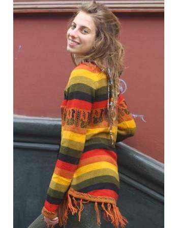 Pullover rasta