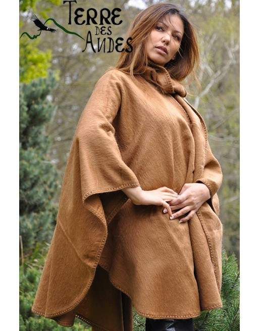 Cape beige cannelle