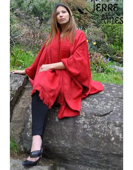 Cape rouge indien
