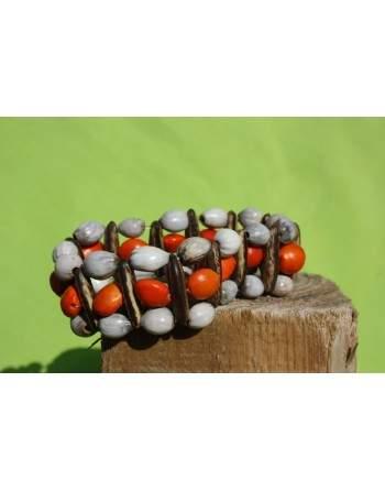 Bracelet en graine Huayruro