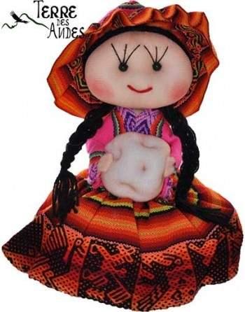 Poupée cholita de Cuzco