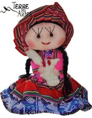 Poupée cholita fait main
