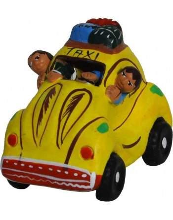 Taxi péruvien coccinelle jaune