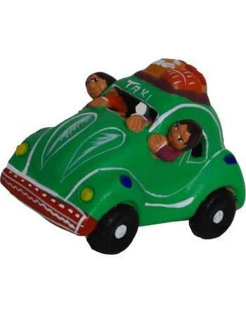 Taxi péruvien coccinelle vert