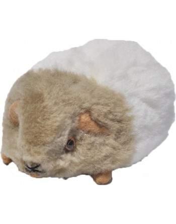 Peluche cochon d'inde beige et blanc
