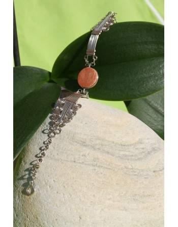 Bracelet avec pierre semi-précieuse