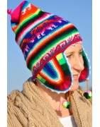 Terre des Andes, bonnets péruviens