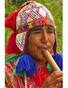 Terre des Andes, véritables bonnets péruviens