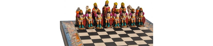 Terre des Andes, Jeux d'échecs inca espagnol