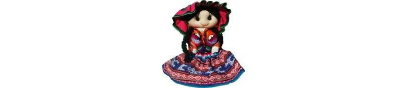 Terre des Andes, poupées du Pérou